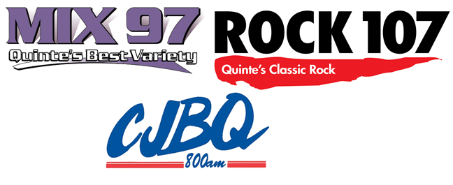 quinte broadcasting grouping Mix 97 - Quintes Best Variety Rock 107 Quinte's Classic Rock CJBQ 800AM